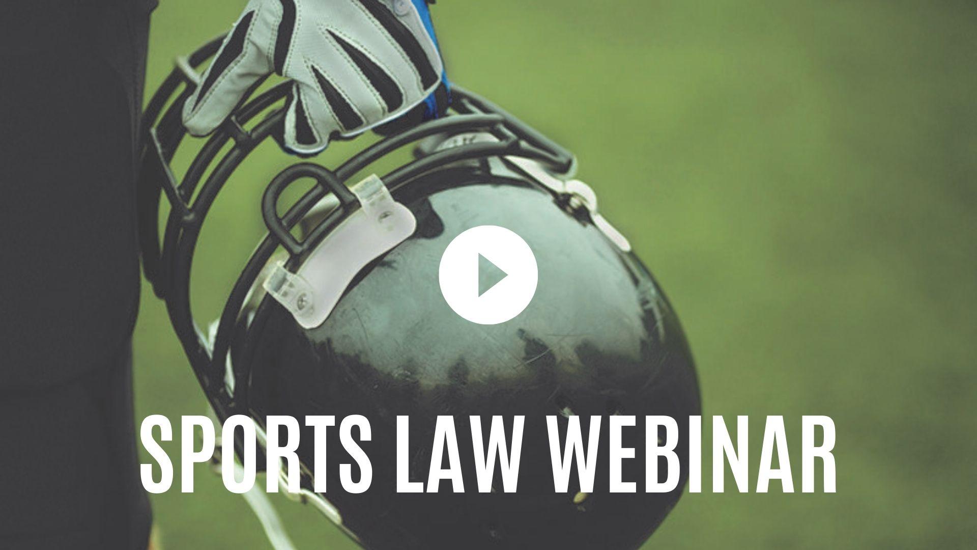 Sports Law Webinar