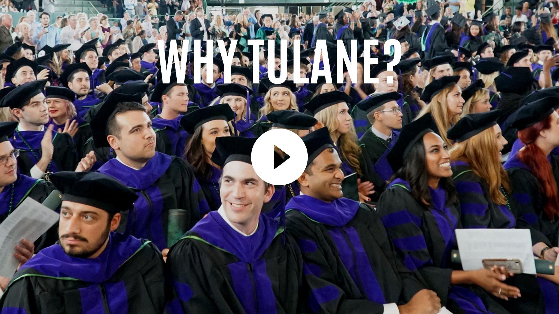Why Tulane?